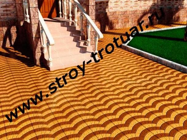 Укладка тротуарной плитки Химки, фотография 1