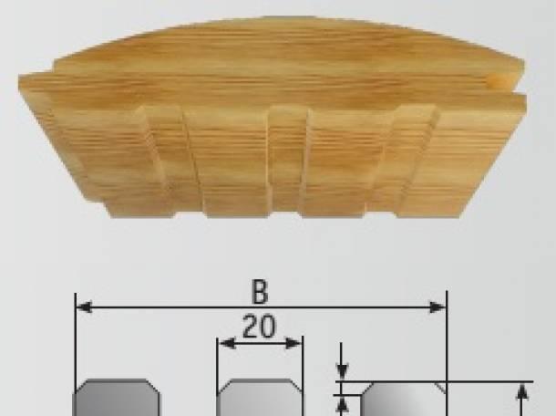 Фрезы для воздушного разгрузочного паза 20 мм, Р6М5, фотография 2