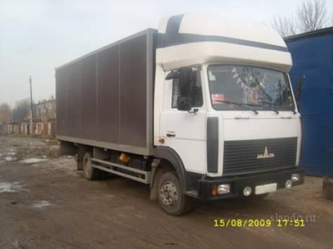 Грузоперевозки на личном а/м МАЗ-Зубр(фургон), фотография 1
