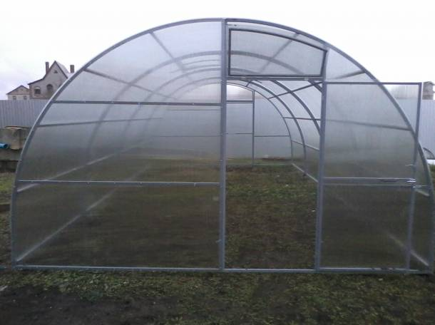 Теплицы фермерские шир. 4м, 5м, 5.25м, 7.64м., фотография 1