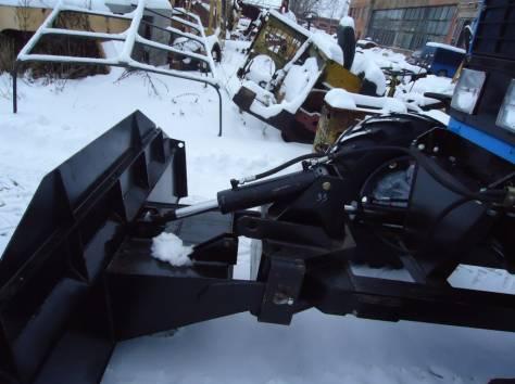 Отвал бульдозерный для МТЗ гидроповоротный с усиленной рамой, фотография 5