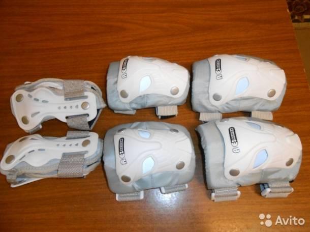 Набор защиты детский для катания на роликах, фотография 2