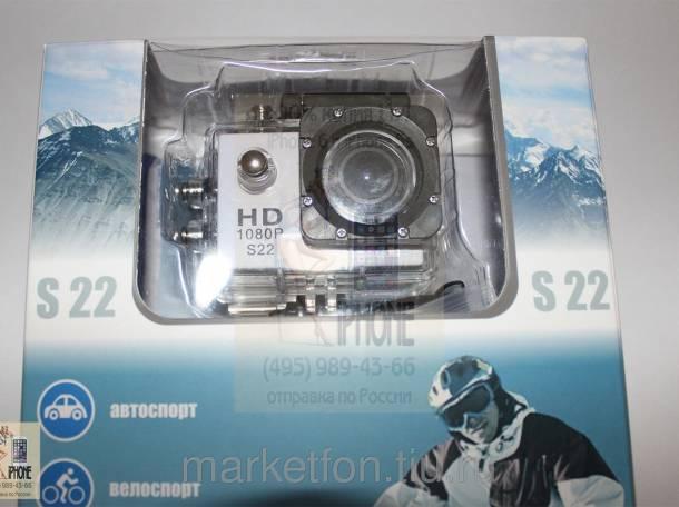 Экшн-камера Subini S22 с водозащитой до 30 м. Доставка, фотография 2