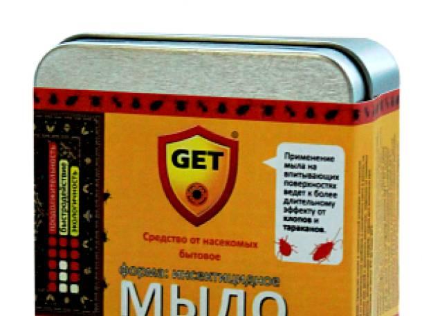 Эффективное средство Get (Гет) от насекомых (тараканов, клопов, блох), фотография 1