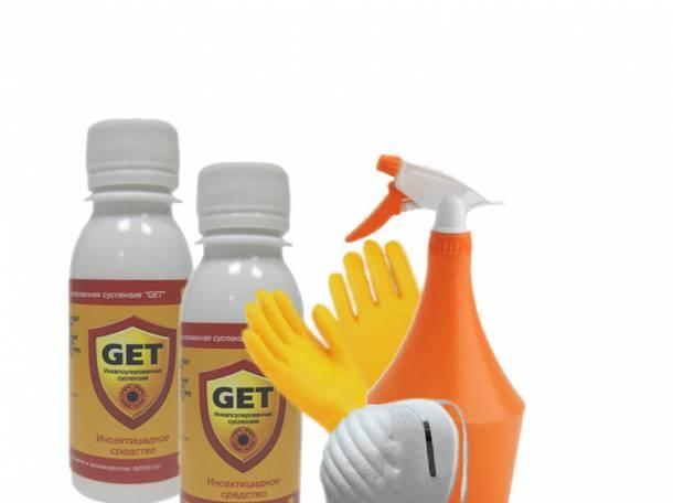 Эффективное средство Get (Гет) от насекомых (тараканов, клопов, блох), фотография 3