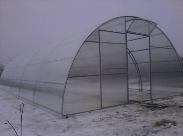 Теплицы фермерские шир. 4, 5, 5.25м, 7.64м., фотография 3