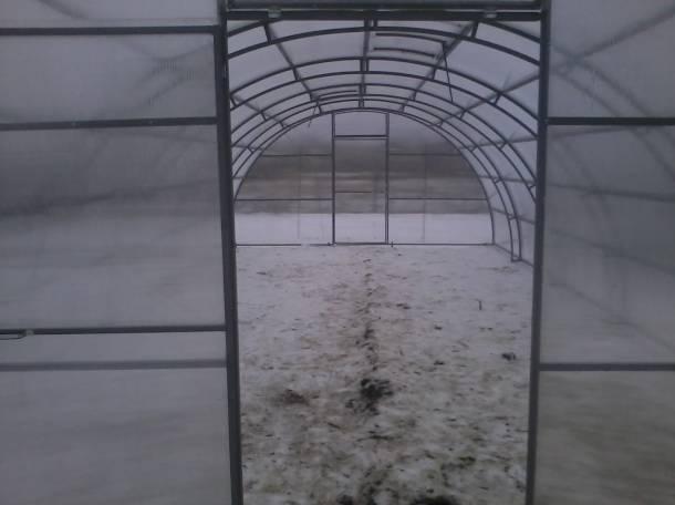 Теплицы фермерские шир. 4, 5, 5.25м, 7.64м., фотография 4