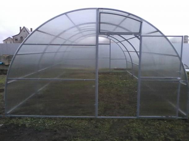 Теплицы фермерские шир. 4, 5, 5.25м, 7.64м., фотография 6