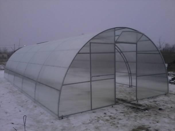 Теплицы фермерские шир. 4, 5, 5.25м, 7.64м., фотография 1