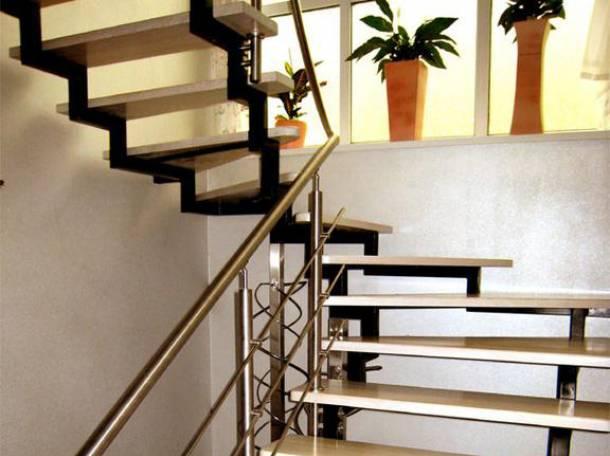 Лестницы Казань. Лестницы на второй этаж Казань., фотография 1