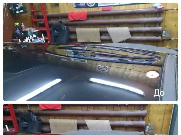 Ремонт Вмятин с Сохранением Заводской Краски на Авто в Ухте, фотография 5