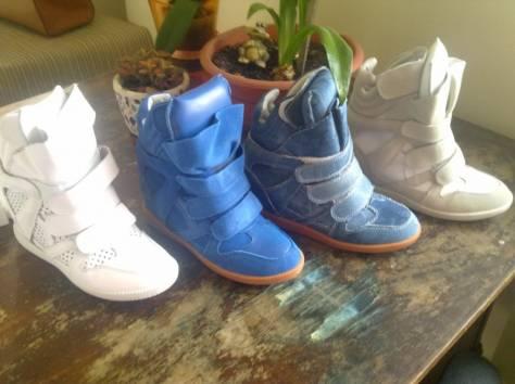 Модная обувь для девушек(Isabel Marant, Ugg), фотография 1
