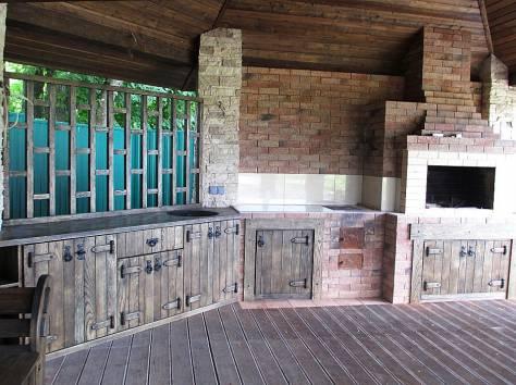 Уличная мебель из массива дуба,  лиственницы, фотография 6