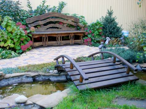 Уличная мебель из массива дуба,  лиственницы, фотография 9