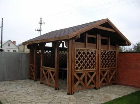 Уличная мебель из массива дуба,  лиственницы, фотография 10
