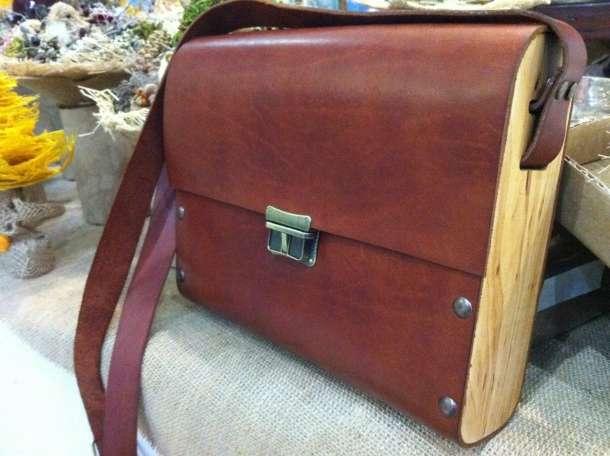 Кожаные сумки ручной работы, фотография 1