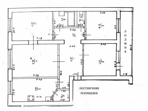 Продам 4х комнатную квартиру в центре города, 50 лет Октября 66, фотография 1