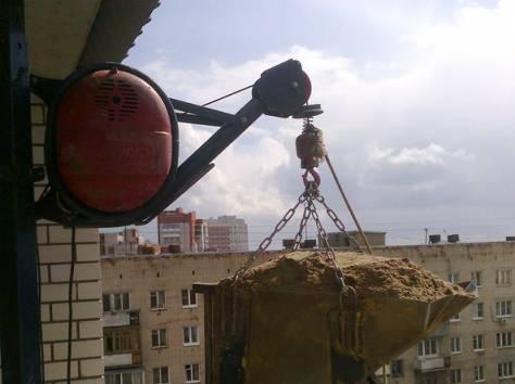 Как поднять груз на высоту с оттяжкой