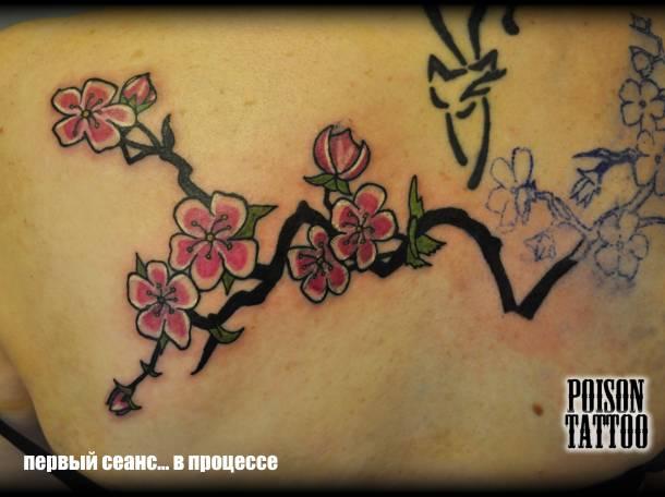Татуировка в Орехово-Зуево, фотография 1