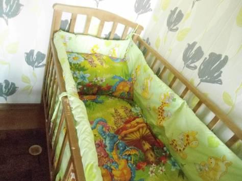 кроватка,стульчик для кормления,много вещей!!!, фотография 5