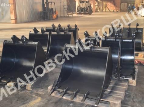 Ковши для экскаваторов-погрузчиков  шириной 400 мм , фотография 2