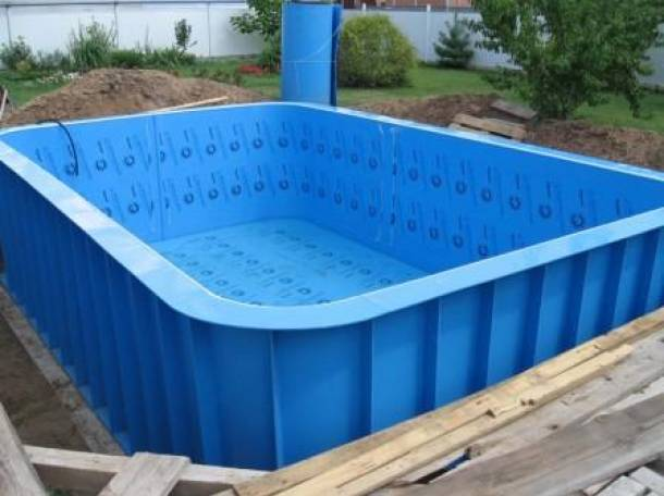 Как сделать бассейн своими руками из полипропилена