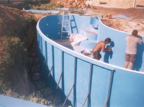 Строительство пластиковых полипропиленовых бассейнов , фотография 2