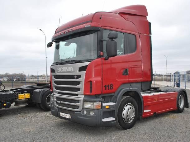 Седельный тягач Scania R420 2010 года, фотография 1