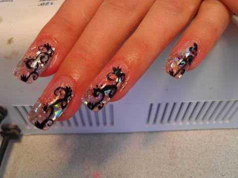 маникюр, наращивание ногтей, фотография 2