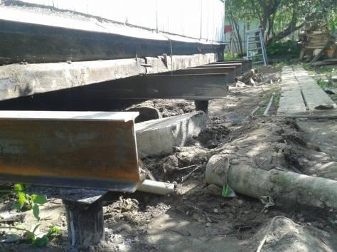 Фундаменты на винтовых сваях, подъем домов, Лодейное Поле, фотография 3