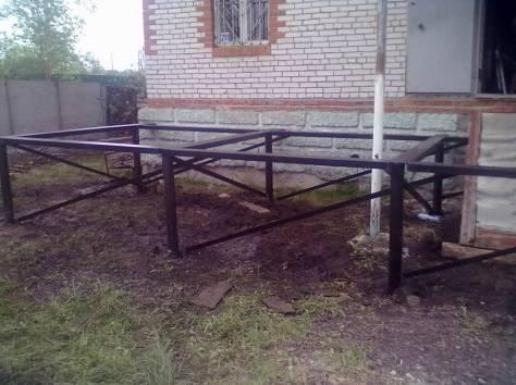 Фундаменты на винтовых сваях, подъем домов, Лодейное Поле, фотография 4