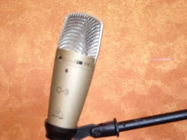 микрофон.стойка., фотография 2