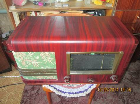 радиоприёмник ламповый ленинград, фотография 2