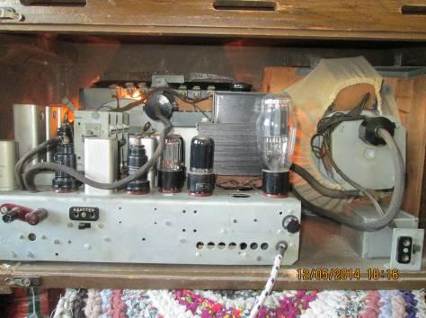 радиоприёмник ламповый ленинград, фотография 4