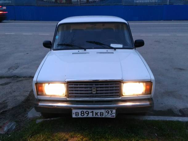 Продам ВАЗ 2107 в отличном состоянии, фотография 1