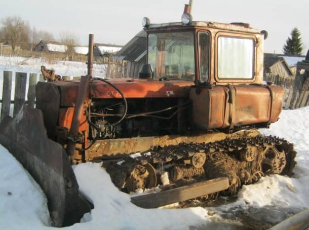 Продам бульдозер ДТ-75, фотография 1