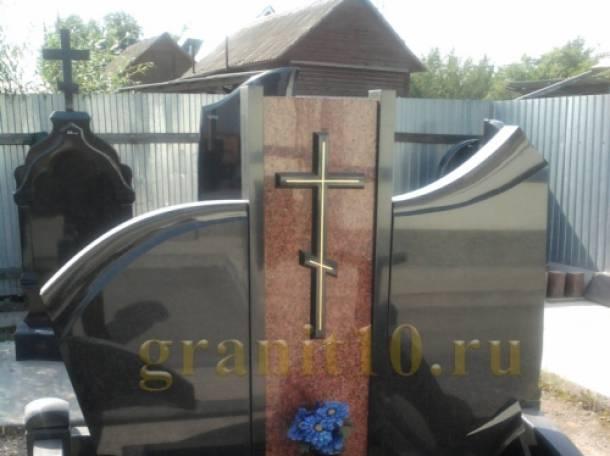Памятники из габбро-диабаза от производителя в Карелии, фотография 2