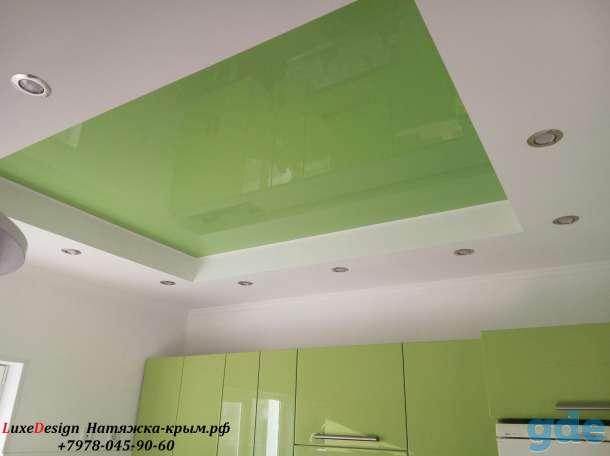 Натяжные потолки для кухни, фотография 3