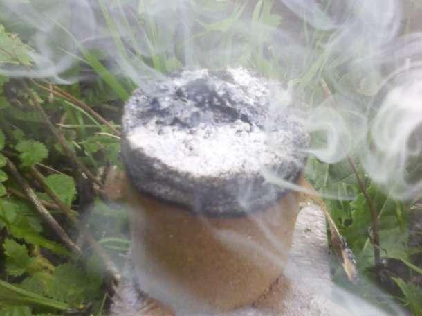 Табачная дымовая шашка Вулкан для теплиц, фотография 2