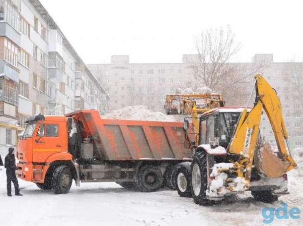 уборка снега, разнорабочие, фотография 1