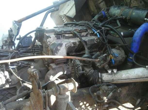 установка мотора MAN на мАз
