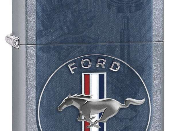 Зажигалка Zippo Ford Mustang Emblem, фотография 1