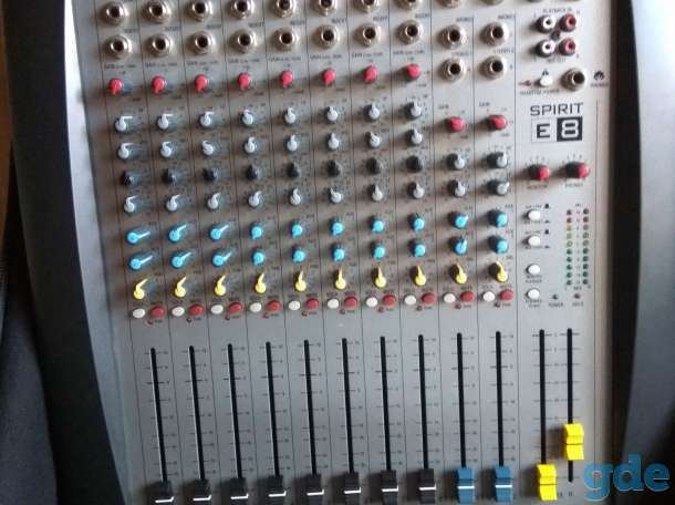 Микшерный пульт SoundCraft Spirit E-8, фотография 3