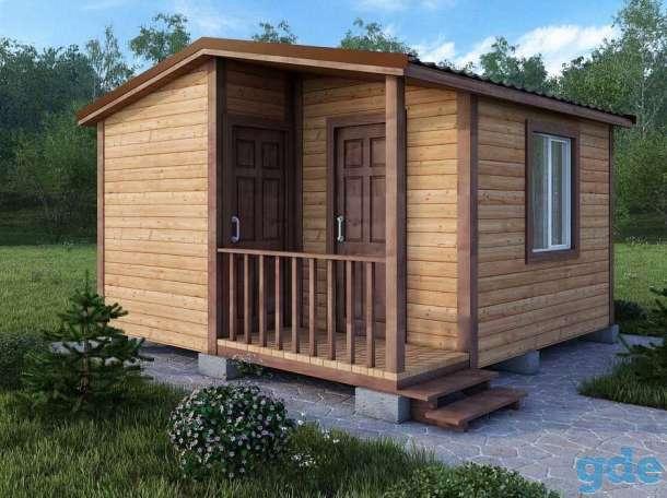 Дачный домик  с террасой, фотография 3