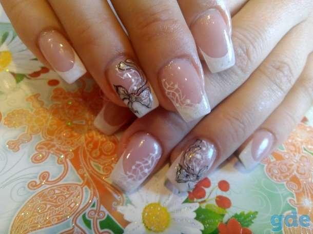 Прически и макияж,ногти и ресницы, фотография 8