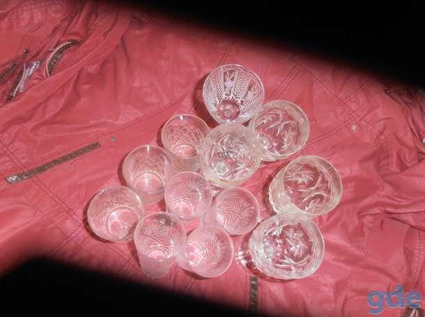 Старинные  фужеры  и  стаканы  из  хрусталя, фотография 4