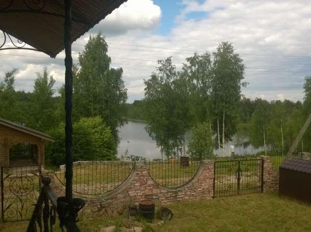 Шмкарный дом-коттедж с баней на берегу живописного озера, фотография 6