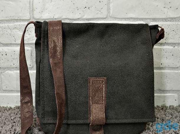 Мужская кожаная сумка, фотография 1
