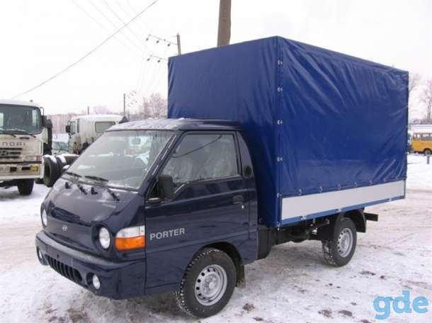Тент на Hyundai Портер, фотография 1