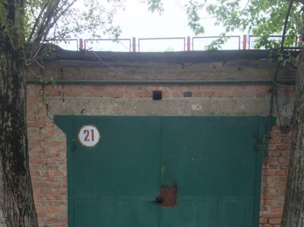 Продам охраняемый кирпичный гараж 18 м², фотография 2